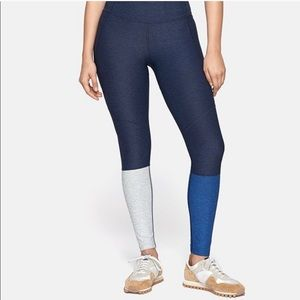 Outdoor Voices 7/8 Dipped Legging Navy